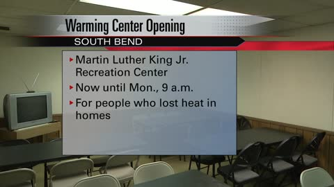 City of South Bend opens emergency warming shelter